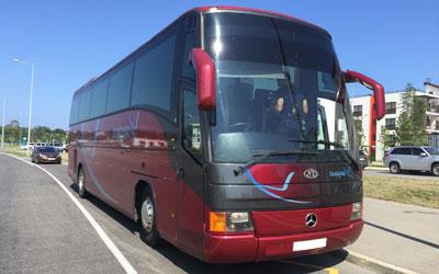 Аренда автобуса в Адлере
