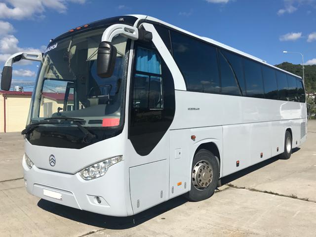 Аренда автобуса Golden Dragon 49 мест в Сочи
