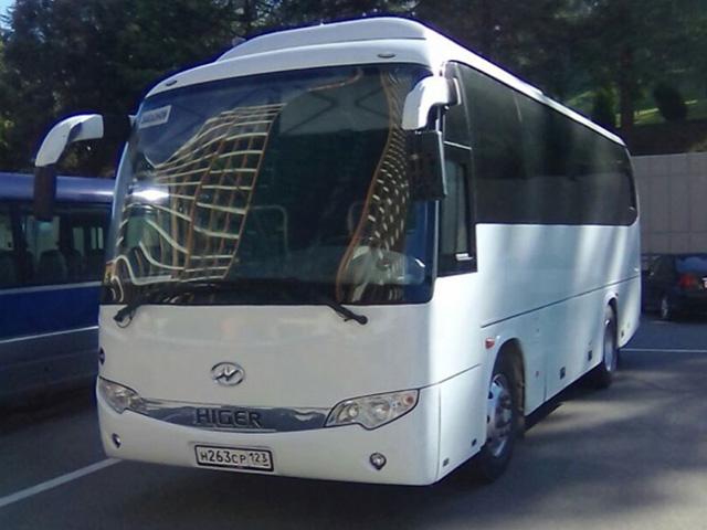 Аренда автобуса на 35 мест в Сочи